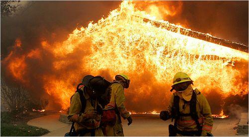 AA burn house
