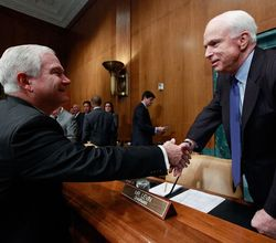 John mccain robert gates dont ask dont tell gays in the military