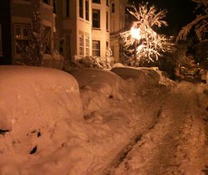 Dc car snowmounds