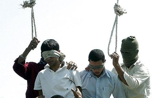 Iranian execution of gays 2005