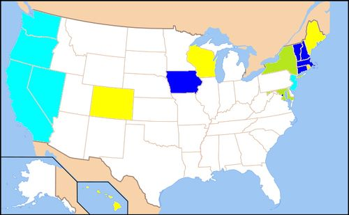 Us map gay relationship recognition