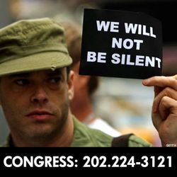 Dadt repeal call congress