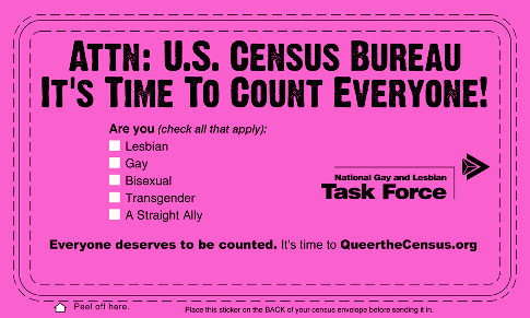 Queer the census gay ngltf