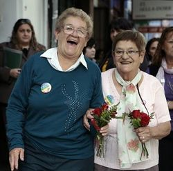 Norma Castillo and Ramona arevalo lesbian argentina gay marriage