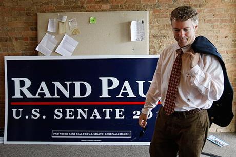 Rand paul senate republican kentucky civil rights gays