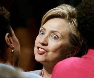 Hillarystares